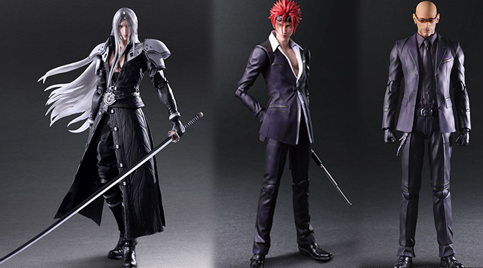 Pre Order Final Fantasy Vii Remake Play Arts Kai Sephiroth Reno Rude News Final Fantasy Portal Site Square Enix